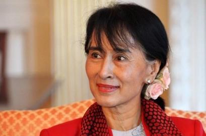 Aung San Suu Kyi-India-Politics