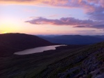 Sunset from Ben Nevis