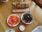 Breakfast, day 3.